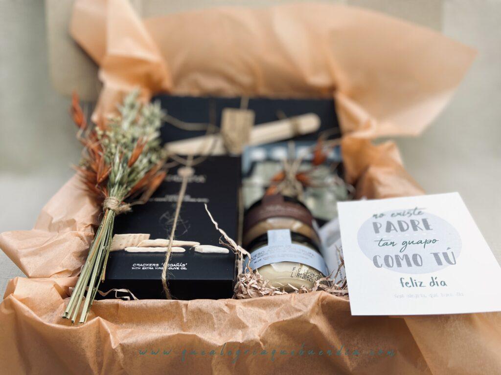 Pack Regalo Papa Eres un Salao, ideal para aquellos que le encanten lo gourmet y los aperitivos