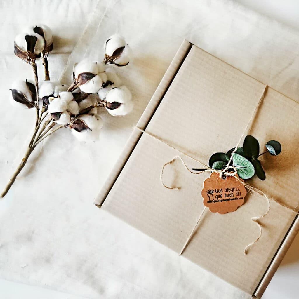 Foto del pack regalo persona especial empaquetado