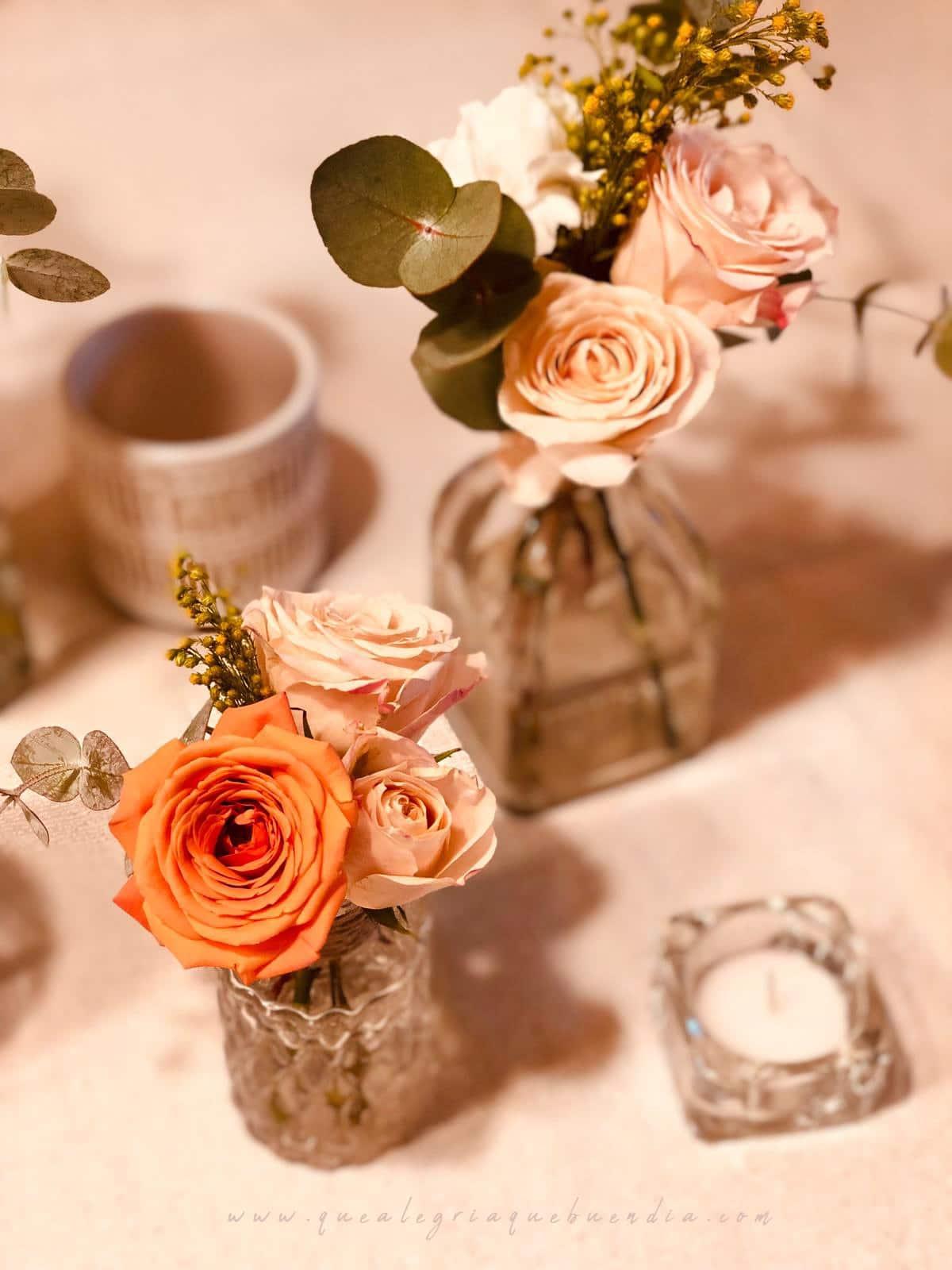 Decoración Floral_ Centro de Mesa Banquete