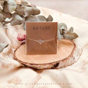 Pulsera de plata Pack Regalo Nature Cactus