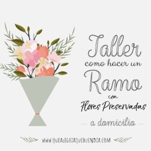 Pack Taller Floral Ramo