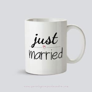 Taza Regalo_Bodas_JustMarried
