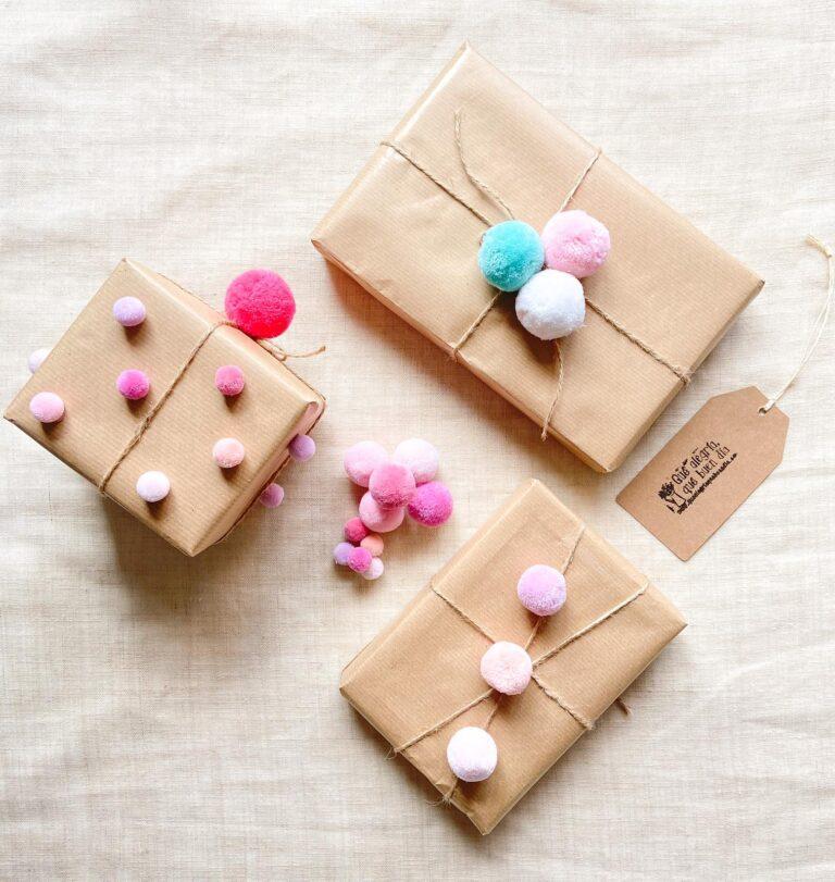 DIY Como envolver regalos de una forma divertida_Alegria