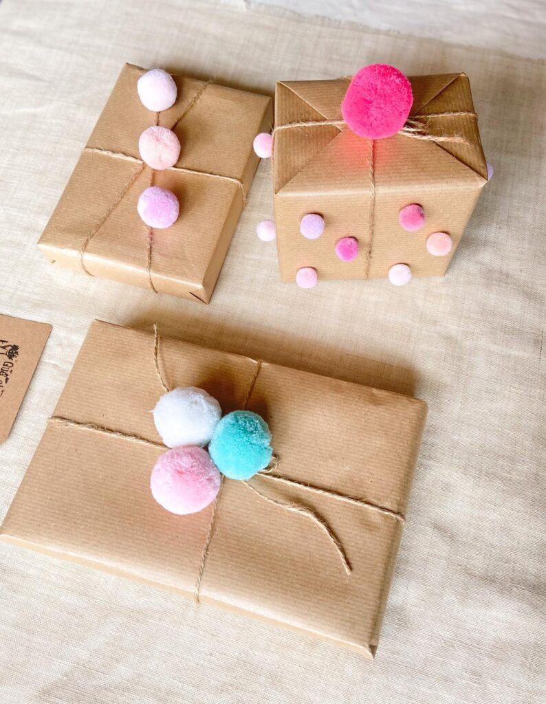 DIY Como envolver regalos de una forma divertida_Colorido