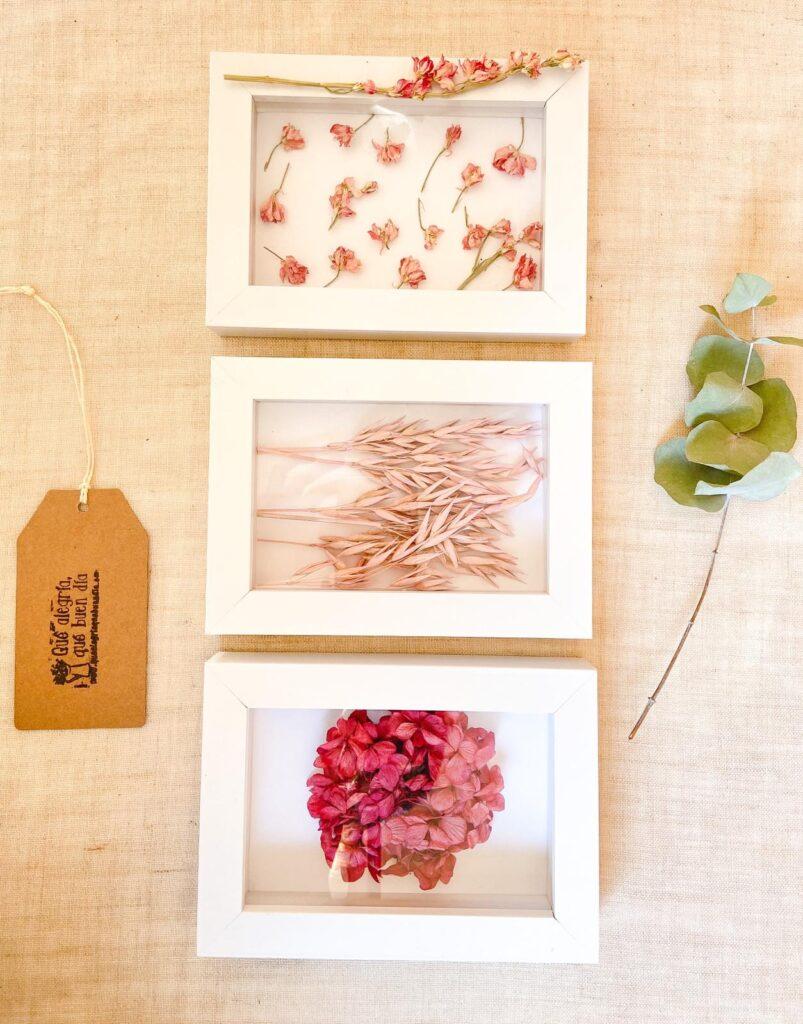 DIY FLORAL_ Diferentes opciones de decoracion con flores de colores rosados