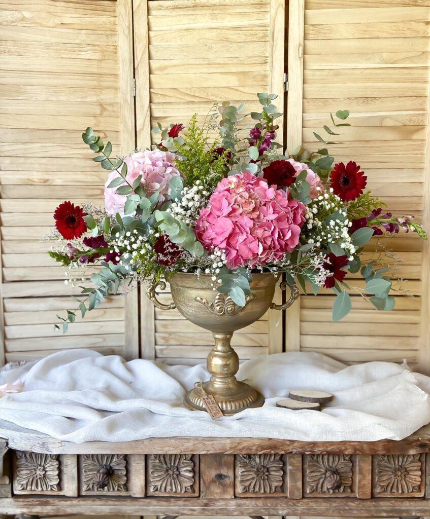 Decoración floral de eventos y bodas