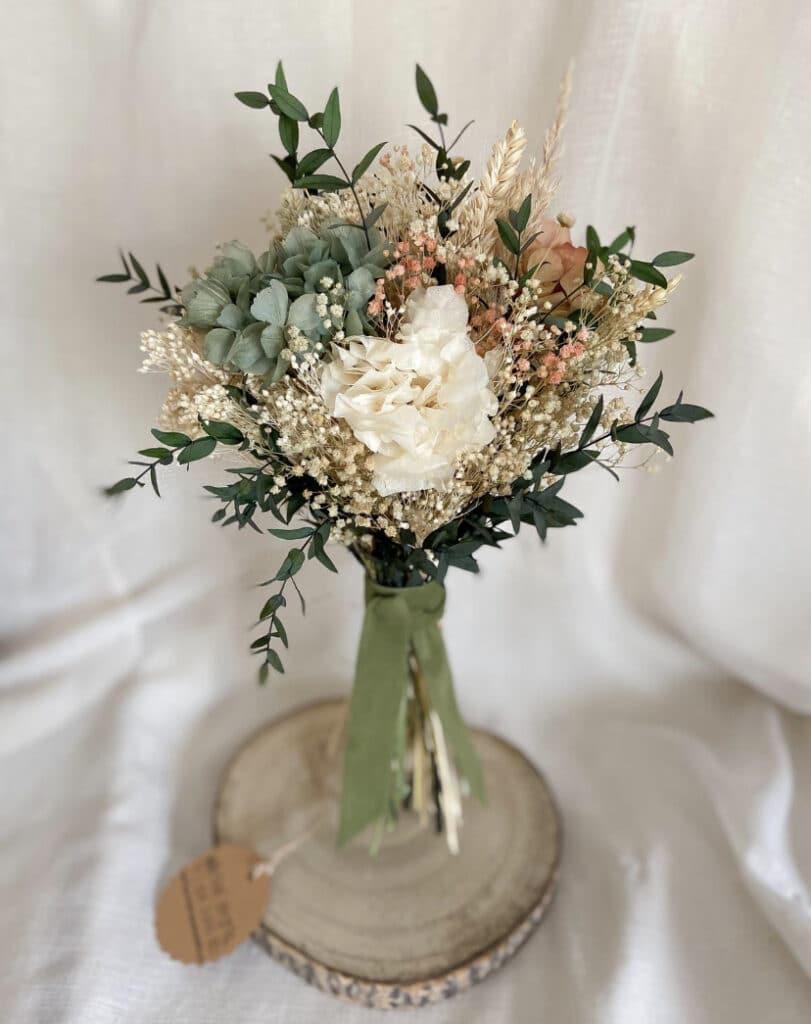 El ramo de novia con tonos pasteles es ideal