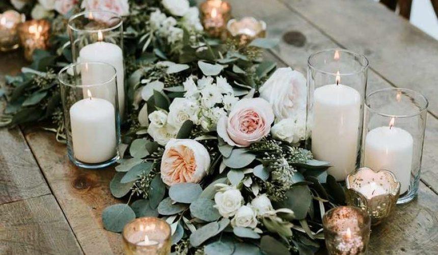 Ideas para una boda rústica_ Foto Pinterest_Centro