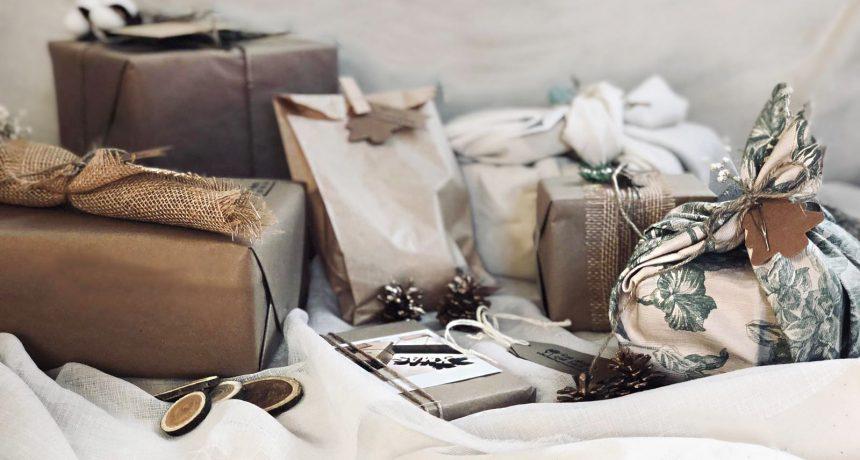 Ideas faciles para envolver regalos estas navidades